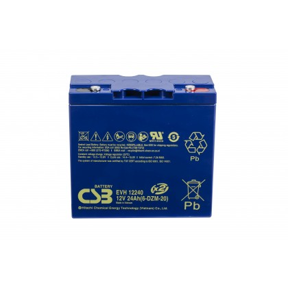evh12240 12v 24ah battery. Black Bedroom Furniture Sets. Home Design Ideas
