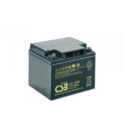 Acumulator EVX12400 12V 40Ah