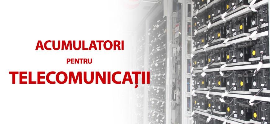 Acumulatori pentru Telecomunicatii