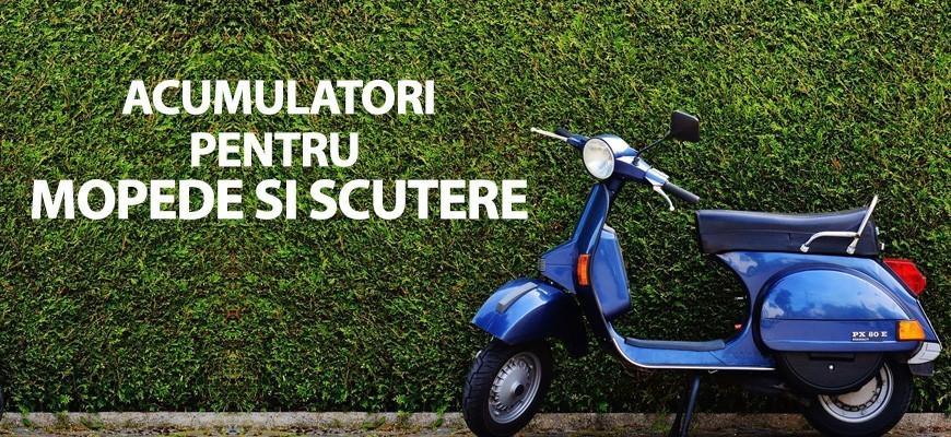 Acumulatori pentru mopede si scutere